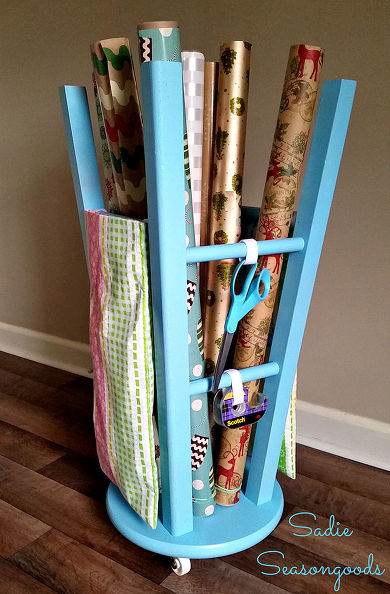 1443473529-upcycled-kitchen-stool-gift-wrap-caddy-crafts-organizing-repurposing-upcycling-1