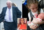 Facebook picture (used with permission) of Amy Duckers. David Hardy who punched newborn baby Elsie Temple in the face as her mother Amy Duckers was showing her to friends in a Tesco store has appeared in court to insist he mistook the infant for a toy doll. Hardy approached five day Elsie as she lay in her carry cot inside a shopping trolley then thumped her as the youngster's mother Amy looked on in horror.  Disclaimer: While Cavendish Press (Manchester) Ltd uses its' best endeavours to establish the copyright and authenticity of all pictures supplied, it accepts no liability for any damage, loss or legal action caused by the use of images supplied.  The publication of images is solely at your discretion. For terms and conditions see http://www.cavendish-press.co.uk/pages/terms-and-conditions.aspx