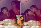 "Pic shows: Belen grabs her son by the cheeks;nnA celebrity model has shocked her five million followers on social media after posting a clip of her putting her tongue in her three-year-old son's mouth.nnBelen Rodriguez, 31, who is Argentinian but lives and works in the Italian city of Milan, was accused of inappropriate behaviour after the video went viral.nnIt appears to have been taken at a dinner party and shows Rodriguez grabbing her son Santiago by the chin and putting her tongue in his mouth in what local media have called an inappropriate kiss.nnThe former Playboy model also puts cream from his plate on her finger and then dabs it on his nose and cheek as the little boy laughs hysterically.nnIt created a debate online between those who thought the kiss was inappropriate and those who thought it was an innocent moment of fun between a mother and her son.nnNetizen 'Guglia' commented: ""You're outrageous, like this video!"", while 'Marina' added: ""And you'd be a good mother? But please, you just have to feel ashamed!""nnHowever, 'Laura' argued: ""I do the same with my daughter and I don¿t see that is perverted"", while 'Martina' said: ""He seems like a happy and sweet child. I don¿t understand what you see here that is not right!""nnRodriguez, who has worked as both a fashion and a nude model, as well as a singer, TV host, actress and businesswoman, got divorced from Santiago's father, the dancer Stefano De Martino, in December 2015.nnShe is a former WAG who was in a relationship for several years with Italian striker Marco Borriello who then played for AC Milan but now plays for Cagliari.nnRodriguez was later the girlfriend of Italian media personality Fabrizio Corona and was at the centre of a storm of controversy in 2009 when they allegedly had sex in public in the Maldives."