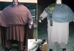 PIC FROM Caters News - (PICTURED: Arbab Khizer Hayat) - Is this man the real life Hercules? Arbab Khizer Hayat, who weighs an unbelievable 960 lbs, has already been named Pakistans hulk man. A thrilling video shows the big man stopping a tractor and cars with his bare hands. 25-year-old Hayat says he wants to become a weightlifting champion. My aim to become the champion. I am thankful to God for giving me this body. It is a matter of time before I get into the world weightlifting arena, said Hayat. SEE CATERS COPY.