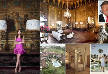 PALM BEACH, FL - MARCH 26:  (EXCLUSIVE ACCESS, EDITORS NOTE: This image has been retouched) Melania Trump poses during a photo shoot at the Mar-a-Lago Club on March 26, 2011 in Palm Beach, Florida. Melania's clothes by Chanel, makeup by Tina Turnbow for RayBrownPro.com, hair by Mordechai for Yarokhair.com. (Photo by Regine Mahaux/Getty Images)